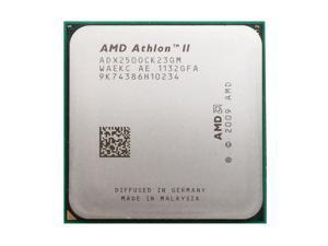 AMD Athlon II X2 250 3.0 GHz 2x1 MB L2 Cache 65W Dual-Core Socket AM3 Desktop Processor