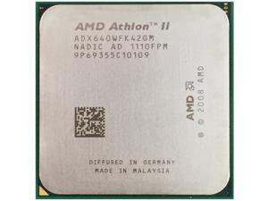 AMD Athlon II X4 640 3.0GHz 4x512KB 95W Socket AM3 desktop CPU