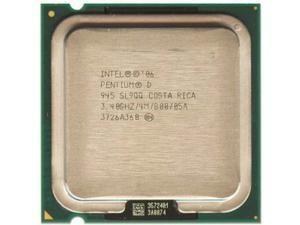Intel Pentium D PD 945 3.4GHz 4M 800MHz Dual-Core Processor LGA775 desktop CPU