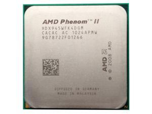 AMD Phenom II X4 945 3.0GHz 4x512 KB L2 Cache Socket AM3 95W Quad-Core Processor  desktop CPU
