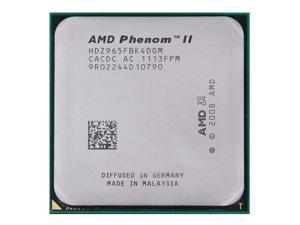 Amd Phenom II X4 965 Black Edition 3.4Ghz Quad-Core Processor 8Mb Cache 125W socket AM3 desktop CPU