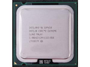 Intel Core 2 Extreme QX9650 3.0GHz 12M L2 Cache 1333MHz FSB Quad-Core Processor  LGA775 desktop CPU