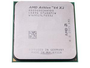 AMD Athlon 64 X2 5400+ 2.8GHz 2x512KB 65W Socket AM2 Dual-Core desktop CPU