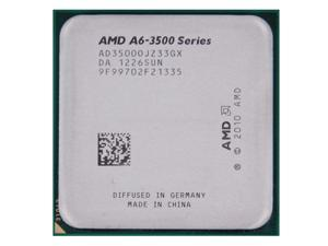 AMD A6-3500 2.1/2.4GHz APU with AMD Radeon 6530 HD Graphics Socket FM1 65W Triple-Core Processor desktop CPU