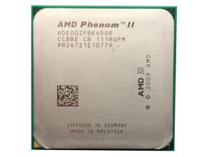 AMD Phenom II X6 1100T 3.3GHz 125W HDE00ZFBK6DGR Processor Socket AM3 938-pin desktop CPU