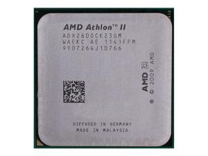 AMD Athlon II X2 260 3.2 GHz 2x1 MB L2 Cache Socket AM3 65W Dual-Core Desktop Processor
