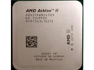 AMD Athlon II X4 631 2.6GHz 4x1 MB L2 Cache Socket FM1 100W Quad-Core Desktop Processor