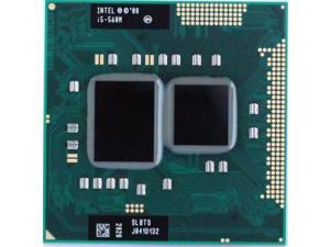 Intel Core i5-560M 2.66GHz 3MB Dual-core Mobile CPU Processor Socket G1 988-pin  SLBTS