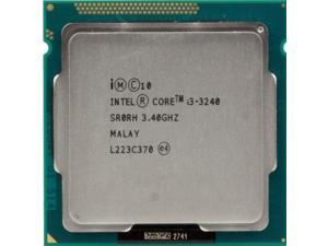 Intel Core i3-3240 3.40GHz 3M  Processor Socket 1155 Ivy desktop CPU  SR0RH