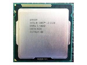 Intel Core i3-2130 3.40 GHz 5 GT/s  3M Cache  LGA1155 desktop CPU  SR05W