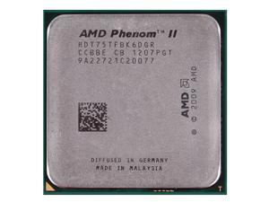 AMD Phenom II X6 1075T 3.0GHz 6 x 512 KB L2 Cache 6 MB L3 Cache 125W Six-Core Processor Socket AM3 desktop CPU