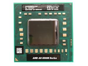 AMD A8-Series Quad-core A8-3520M 2.5GHz AM3520DDX43GX 4MB Socket FS1 35W 722-pin laptop CPU   OEM VER. doesn't come with fan