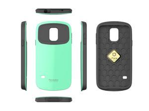 iFace Revolution for Samsung Galaxy S5 Case Perfect Grip / Anti Shock TPU Fit Bumper Cover Case Mint Color