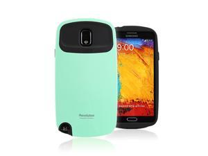 iFace Revolution for Samsung Galaxy Note 3 Case Perfect Grip / Anti Shock TPU Fit Bumper Cover Case Mint Color