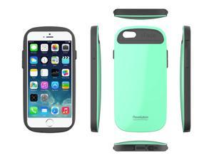 """iFace Revolution 5.5"""" Perfect Grip / Anti Shock TPU Fit Bumper Cover Case for Apple iPhone 6 Plus - Mint"""