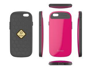 """iFace Revolution 5.5"""" Case Perfect Grip / Anti Shock TPU Fit Bumper Cover Case for Apple iPhone 6 Plus - Hot Pink"""