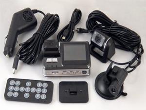 "Dual Camera 120° 720P Car Dash 2"" TFT HD DVR Cam Video Recorder IR Night Vision"