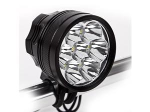 10000Lumens 7  T6 CREE XML XM-L T6 LED Bicycle Light Bike light  HeadLight+12000 mah Battery