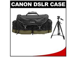 "Canon 1EG Professional Digital SLR Camera Case - Gadget Bag with 58"" Photo/Video Tripod"