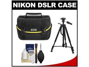 Nikon Starter Digital SLR Camera Case - Gadget Bag with Photo/Video Tripod