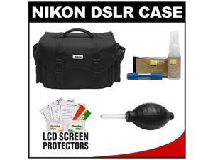 Nikon 5874 Digital SLR Camera Case - Gadget Bag with Nikon Cleaning Accessory Kit