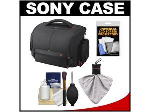 Sony LCS-SC21 Soft Digital SLR Camera Carrying Case with Cleaning Kit