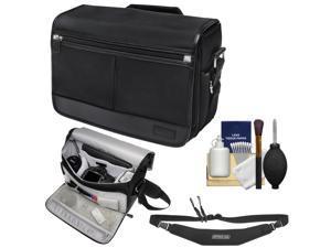 Nikon DSLR Camera/Tablet Messenger Shoulder Bag with Sling Strap + Kit