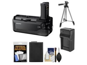 Sony VG-C1EM Vertical Battery Grip for Alpha A7, A7R & A7S Camera with Battery + Charger + Tripod + Accessory Kit