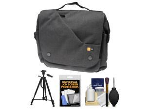 Case Logic Reflexion Digital SLR Camera & Tablet Messenger Bag (Anthracite) with Tripod + Accessory Kit