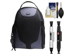 Bower SCB1350 Photo Pack Backpack Case (Black) with Complete Cleaning Kit