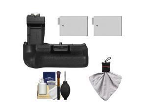 Zeikos BG-E8 Battery Grip for Canon EOS Rebel T2i, T3i, T4i & T5i Digital SLR Camera with (2) LP-E8 Batteries + Accessory Kit