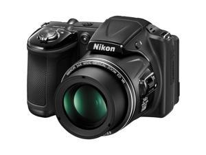 Nikon Coolpix L830 Digital Camera (Black) - Factory Refurbished includes Full 1 Year Warranty