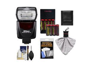 Nikon SB-700 AF Speedlight Flash with (8) Batteries & Charger + Accessory Kit