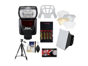Nikon SB-700 AF Speedlight Flash with Softbox + Diffuser + (4) Batteries & Charger + Tripod + Accessory Kit