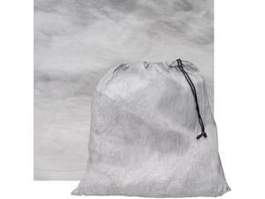 RPS Studio 10x10 Grab-It Muslin Painted Background with Pouch (Gray Fog)