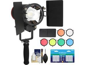 RPS Studio CooLED 20W High Power Light with 6 Color Filters + 16 AA Batteries + Cleaning kit