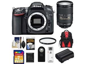 Nikon D7100 Digital SLR Camera Body with 18-300mm VR Lens + 32GB Card + Backpack + Battery + Filter + Accessory Kit
