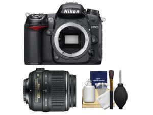 Nikon D7000 Digital SLR Camera Body - Factory Refurbished with 18-55mm VR Lens + Cleaning Kit
