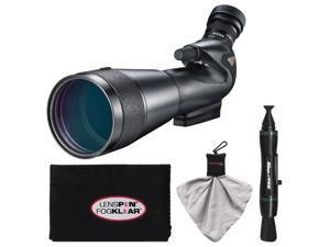 Nikon 20-60x82mm Prostaff 5 Angled Body Fieldscope Spotting Scope with Eyepiece with LensPen + Cleaning Cloth