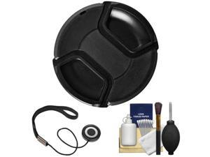 Bower 77mm Pro Series II Snap-on Front Lens Cap with Accessory Kit
