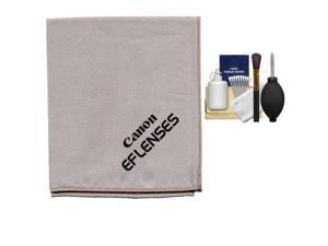 Canon EF Lenses Microfiber Lens Cleaning Cloth with Cleaning Kit