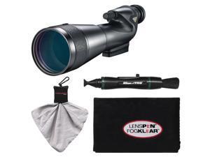 Nikon 20-60x82mm Prostaff 5 Straight Body Fieldscope Spotting Scope with Eyepiece with LensPen + Cleaning Cloth