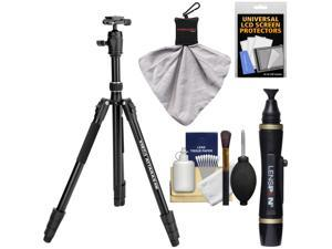 "Davis & Sanford 68"" Vista ATTARAS4M Monopod & Tripod with Ball Head & Case with LensPen + Cleaning Kit"