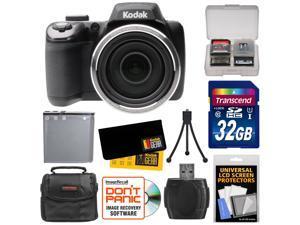 Kodak PixPro AZ525 Astro Zoom Wi-Fi Digital Camera with 32GB Card + Battery + Case + Accessory Kit