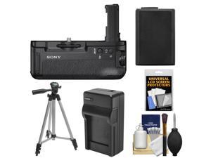 Sony VG-C2EM Vertical Battery Grip for Alpha A7 II Camera with Battery & Charger + Tripod + Accessory Kit
