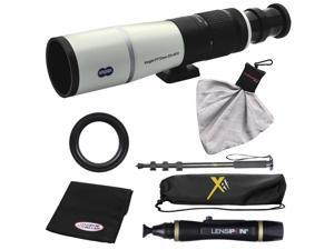 Snypex Knight PT 72mm ED APO Photography Digi-Scope with Hard Case with Monopod + Nikon T Mount + LensPen Cleaning Kit