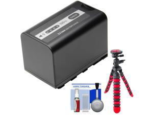 Panasonic VW-VBD58 Rechargeable Battery with Flex Tripod + Cleaning Kit