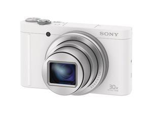 Sony Cyber-Shot DSC-WX500 Wi-Fi Digital Camera (White)