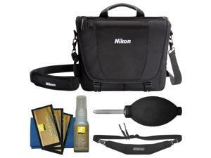 Nikon 17007 DSLR Camera Courier Bag with Sling Strap + Kit