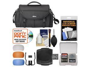Nikon 17008 Large Pro DSLR Camera Bag with Diffuser Filter Set + Kit